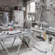 sculteur sur marbre